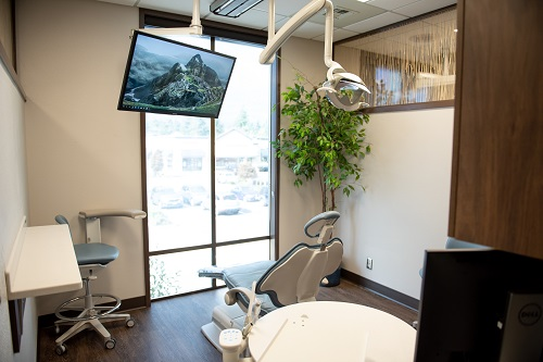 An operatory at Covington Family Dental