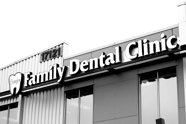 The practice exterior at Covington Family Dental